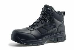 Shoes for Crews Men's Voyager II Steel Toe Slip Resistant Le