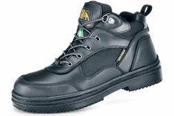 Shoes for Crews Men's Voyager Steel Toe Slip Resistant Leath
