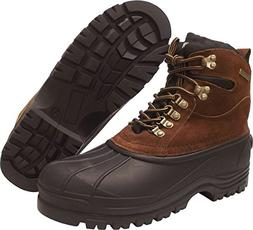 KINGSHOW Men's Waterproof 1280 Snow Boots