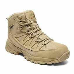 Men's Waterproof Hiking Boots Lightweight Mid Trekking Shoes