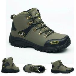 Men's waterproof lightweight leather winter outdoor tactical