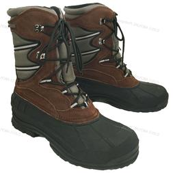 Men's Winter Boots Hiking Leather Nylon Waterproof Thinsulat