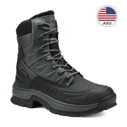 Men's Winter Snow Boots Shoes Work Boots Insulated Waterproo