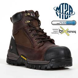 men s work boots composite toe anti