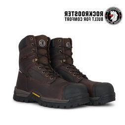 ROCKROOSTER Men's Work Boots Composite Toe Waterproof Punctu