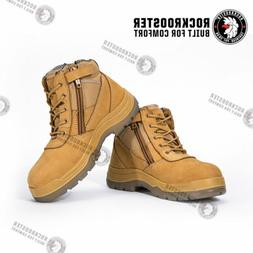 men s work boots steel toe antistatic