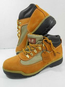 Kingshow Men's Work Boots Sz 10 Leather Upper M1251-1 Vented