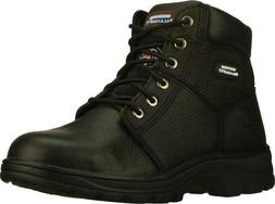 Skechers Men's Work Relaxed Fit Workshire Steel Toe Electric