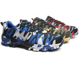 Men's Work Safety Indestructible Shoes Steel Toe Bulletproof