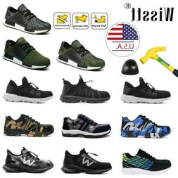 Men's Work Safety Shoes Steel Toe Boots Indestructible Bulle