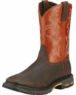 Ariat Men's Workhog Western Work Boots - Steel Toe