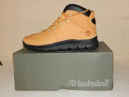 Timberland Men's World Hiker Mid Boots Wheat Nubuck Leather