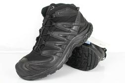Salomon Men's XA Forces Mid Tactical Boots Size 9 Black Blac