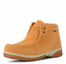 Lugz Men's Zeo Moc Mid Boot Wheat Chukka Casual Memory Foam