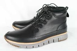 Cole Haan Men's Zerogrand Rugged Chukka Boot Black Leather C