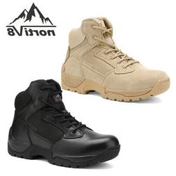 men s zip military tactical boots motorcycle