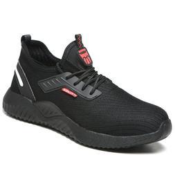 Men Steel Toe Safety Shoes Work Boots Lightweight Indestruct