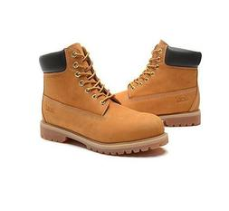 Jacata Men Winter Snow Work Boots Work Shoe Waterproof Genui