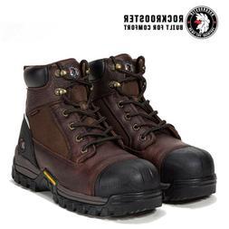 ROCKROOSTER Men Work Boots Composite Toe Waterproof Oil Resi