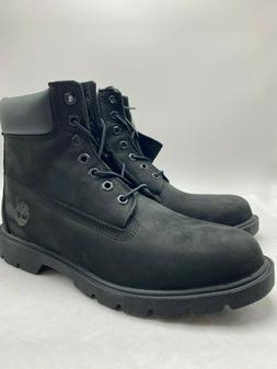 "Mens TIMBERLAND 6"" Basic Boots Black , Sz 8.0-13.0, 100% AUT"