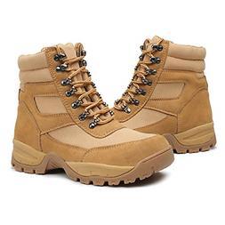 """DRKA Men's 6"""" Waterproof Leather Steel Toe Work Boots Cons"""