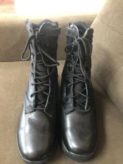 3bc6a6ef2e0b7 Editorial Pick New Balance Men's 991MBK Black Side Zip Tactical Boots Siz