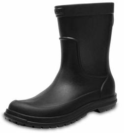 Mens Crocs AllCast Work Boot Black 12, 13  NWT  Waterproof S