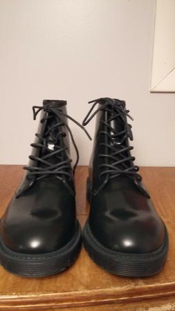 Mens Calvin Klein ankle boots leather upper