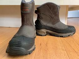 Columbia Mens Arctic Trip Omni Heat Slip Boot Waterproof Lea
