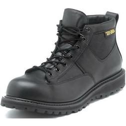 Rocky Mens Black Leather Goretex Work Northern Ops Chukka Bo