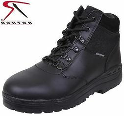 Mens Black Military Style Forced Entry Waterproof Tactical B