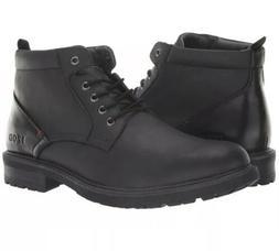 Izod Men's Black NEAL Ankle Fashion Boots Size 11