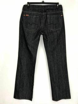 mens boot cut zip fly jeans size