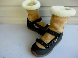 Teva Mens Boots 11 Sheepskin Lined Winter Snow Boots Men's C
