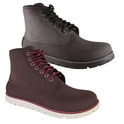 Crocs Mens Cobbler 2.0 Lace Up Boot Shoes