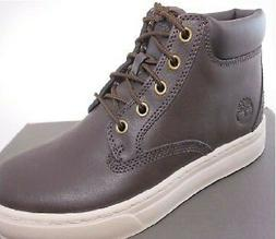 Timberland Mens Dauset Cup Hiker Hiking BROWN Leather Chukka