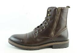 Unlisted by Kenneth Cole Mens Design 30305 Brown Ankle Boots