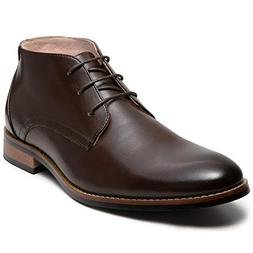 Mens Dress Boots Oxford Lace-up