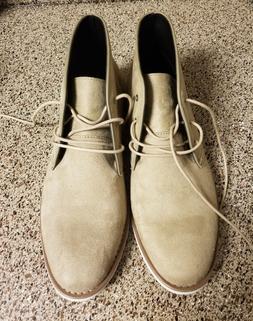 Calvin Klein Mens Faron Beige Chukka Boots Suede size 11 NEW