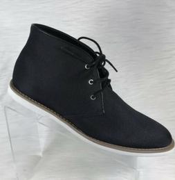 Calvin Klein Mens Faron Black Chukka Boots Cordura size 9.5