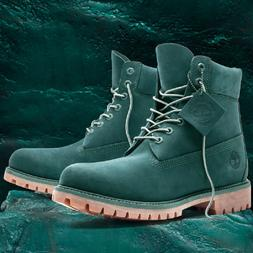 "Timberland Mens GREEN JADE Waterbuck 6"" Boots Limited Releas"