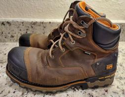 Timberland Pro Mens Leather Waterproof Steel Toe Work Boots