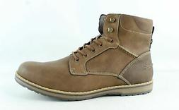 IZOD Mens Leon Tan Ankle Boots Size 12