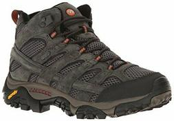 Merrell Mens Moab 2 Mid 100% Suede Leather Waterproof Hiking