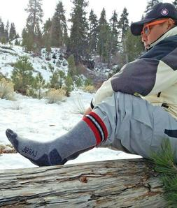 Mens PowerSox by Gold Toe Warm Soft Merino Wool Blend Boot S