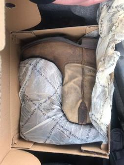 Ariat Mens Rambler Brown Work & Safety Boots Size 13