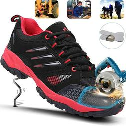 Mens Safety Work Shoes Industry Construction Anti-puncture O