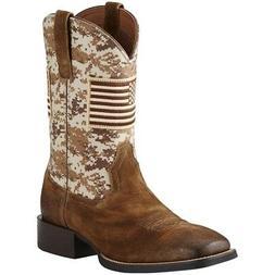 Ariat Mens Sport Patriot Cowboy Boots
