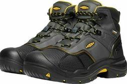 mens steel toe boots black logandale wp