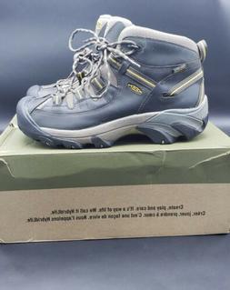 KEEN Mens Targhee II Mid Wide Outdoor Hiking Boot Black/Oliv